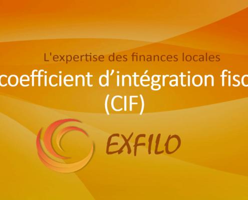 Le coefficient d'intégration fiscale - EXFILO