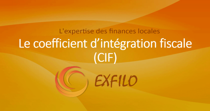 Le coefficient d'intégration fiscale - EXFILO